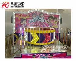 迪斯科转盘游乐设备,欢迎订购华秦游乐设备 大厂 靠谱