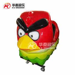 愤怒的小鸟 碰碰车 乐吧车 广场行走机器人 钢铁侠 摇摆车 华秦游乐