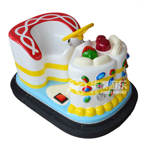 蛋糕碰碰车-白色