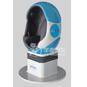 单座蛋形动感影院 3D动感影院 7D动感影院 9D现实虚拟设备 华秦VR设备