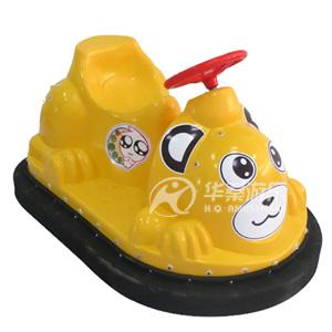 动物碰碰车(黄色),华秦游乐设备厂家专业生产超萌动物碰碰车,碰碰车,碰碰车游乐设备,广场游乐设备