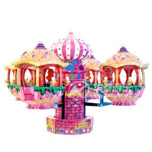城堡飞机8座游乐设备 华秦专业生产各类游乐园设备 大品牌