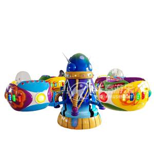 太空一号旋转游乐设备 华秦游乐设备厂家 专业的游乐设备生产厂家