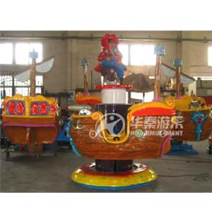 海盗船飞机8座旋转游乐设备 华秦专业生产 大品牌 质量和售后有保证