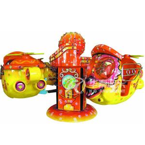 趣味飞机8座游乐场设备 华秦游乐设备 专业游乐设备生产厂家