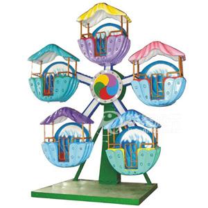 儿童摩天轮游乐园设施 华秦专业生产各类游乐设备