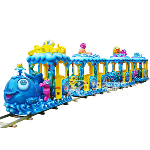 大火车(轨道火车)华秦游乐设备厂家 专业生产各类游乐园设备
