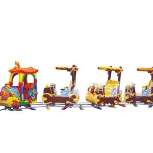 轨道火车游乐园设施 华秦广场游乐设备 大规模游乐设备厂家
