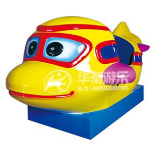 新款欢乐小飞机摇摆车 专业儿童摇摆车批发生产厂家