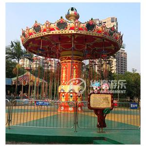 32人飞椅游乐设备 华秦专业生产游乐设备厂家 大品牌 有质量保证