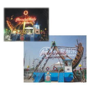 24人海盗船游乐园设施 华秦专业生产各类游乐设施 大品牌 有质量保证