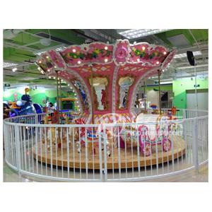 12人豪华转马设施 华秦游乐专业生产游乐园设施 专业的游乐园设施生产厂家