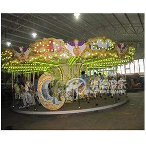 32人豪华转马设备 专业的游乐园项目设备 华秦游乐园设施生产厂家