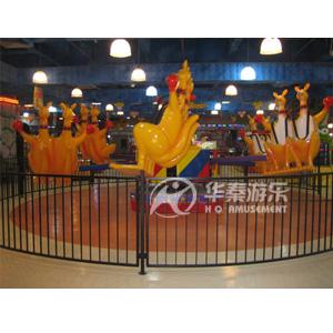 12人袋鼠跳游乐园设施 华秦游乐游乐园项目设施 专业的游乐园项目生产厂家