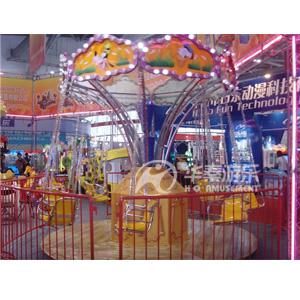 12人飞椅游乐园设施 华秦游乐园项目设施 专业的游乐园设施生产厂家