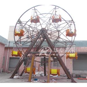 32人摩天轮游乐设备 华秦游乐设备生产厂家 专业的游乐园项目厂家