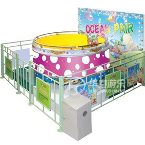 疯狂魔盘游乐设备 华秦游乐专业生产可定制游乐园项目设备
