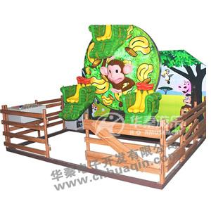 3座猴子香蕉(儿童摩天轮) 华秦专业生产各类游乐园设施 大厂家 大品牌