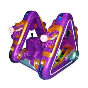 儿童版广场行走机器人(钢铁侠紫色),火爆的游乐设备 ,赚钱的广场行走机器人