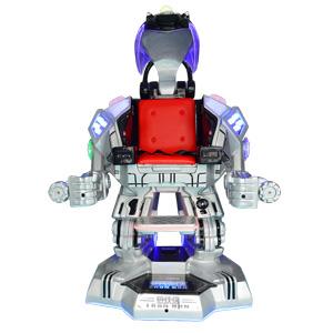 广场行走机器人-钢铁侠(银色)