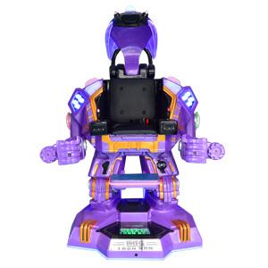 广场直立行走机器人-钢铁侠(紫色)