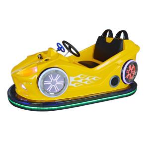 儿童双人碰碰车(黄色)游乐设备,游乐设备创业好选择,双人碰碰车厂家,双人碰碰车