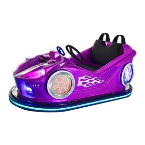 儿童双人碰碰车(紫色),万元创业好选择,华秦双人碰碰车,大品牌,有保障