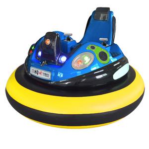 可定制太空飞船2代儿童碰碰车(黄色) 华秦游乐新款充气碰碰车,欢迎来电咨询