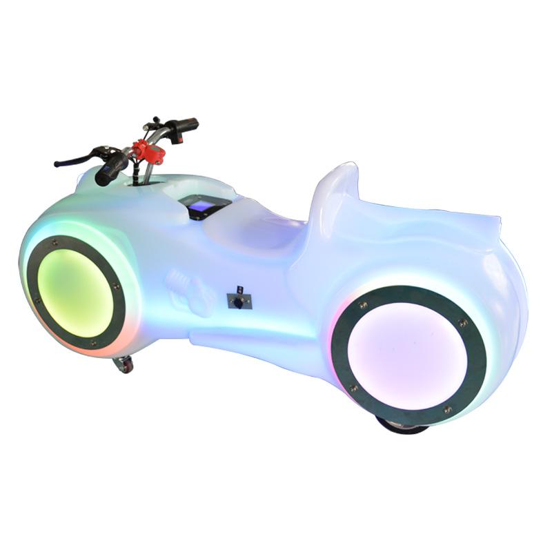 新款广场太子摩托车(白色)