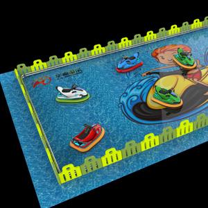 摩托艇游乐设备场地策划图