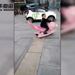 宁波万达广场鲤鱼飞车项目