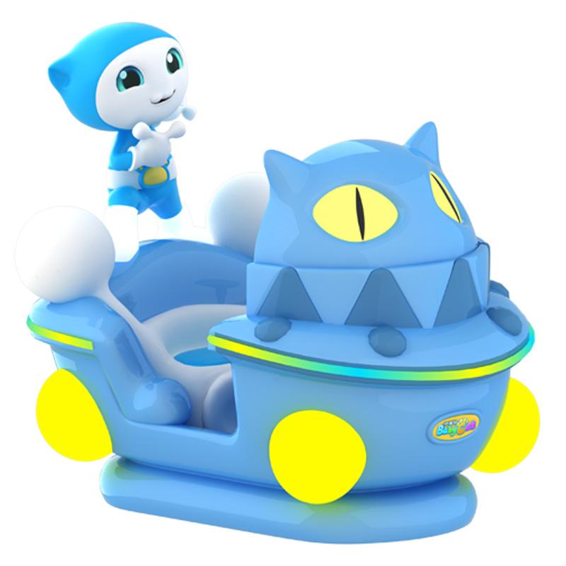 小童猫摇摇车
