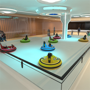太空飞船场地设计方案