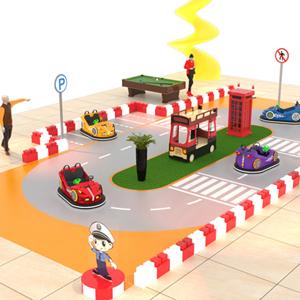 室内交通小镇场地设计方案
