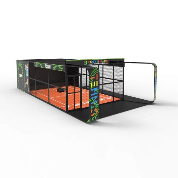 LJ模拟网球竞技游乐设备