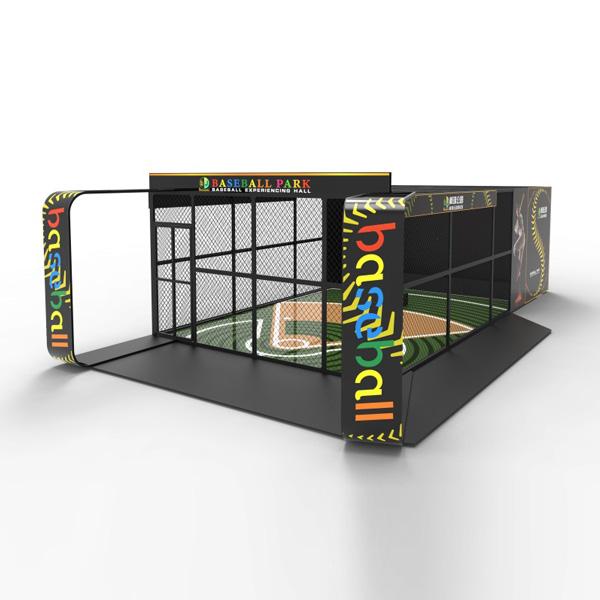 LJ模拟棒球竞技游乐设备,2020运动型游乐设备 厂家直销