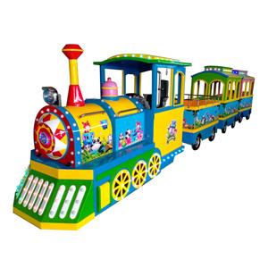 广场小火车