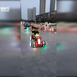 天津某广场超速者游乐项目