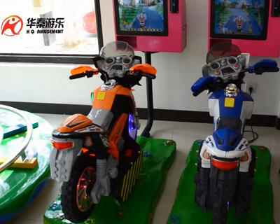 新款3D摩托摇摇车